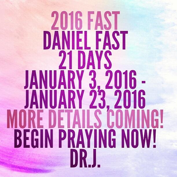2016 Daniel Fast Menu for January 3 – January 23 Post2