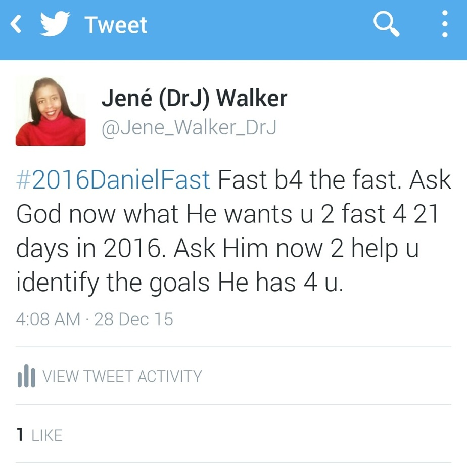 We Can't Jump Into a Fast While Swimming in Sin by Dr.J.2016 Daniel Fast Post3