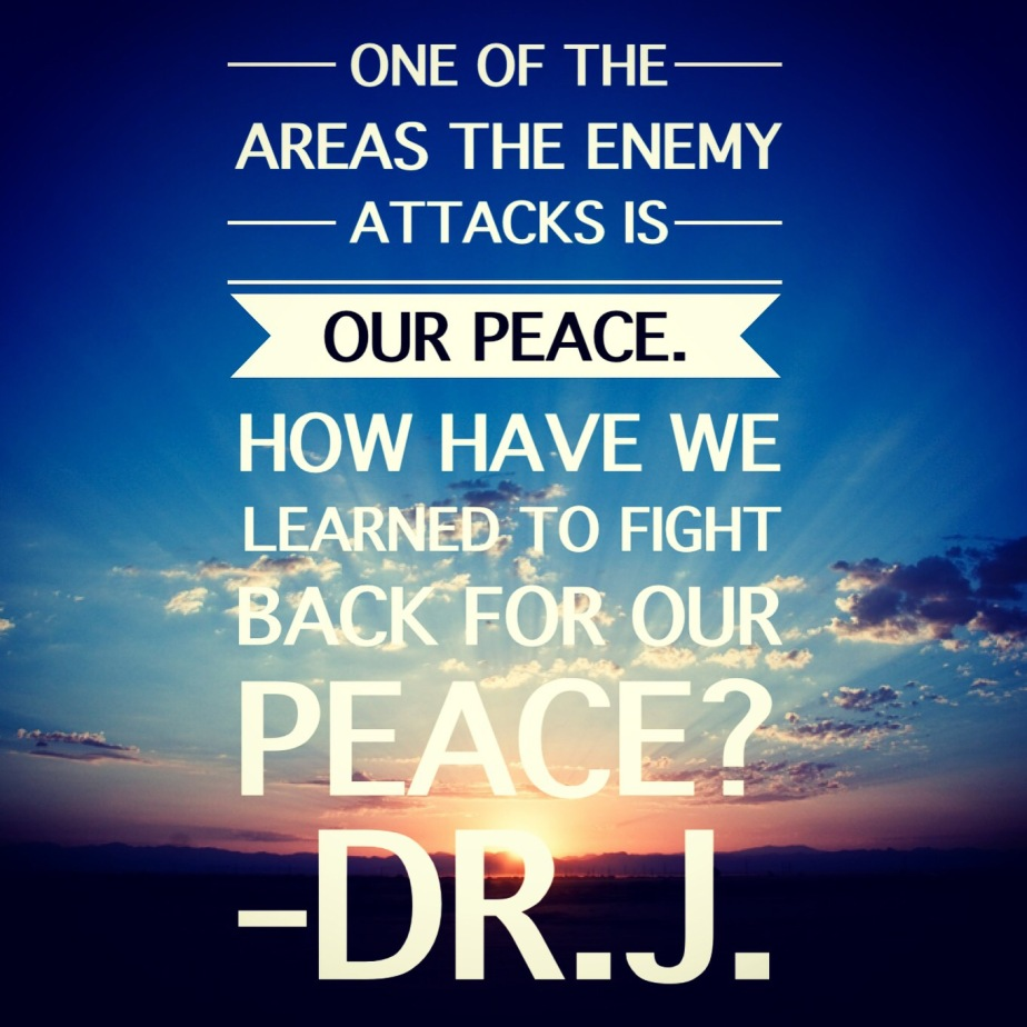 """Hardened Hearts Block the Peace of God"" by Dr.J. 2016 Fast Post 31"