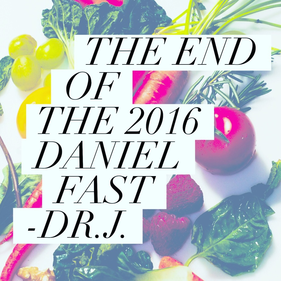 """""""The End of the Fast, the Beginning of a Season of Spiritual Growth"""" by Dr.J. Post33"""