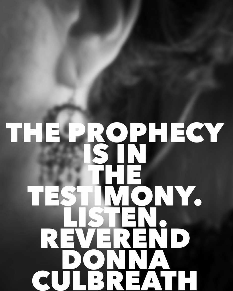 """The Prophecy is Buried in the Testimony"" by Dr.J."