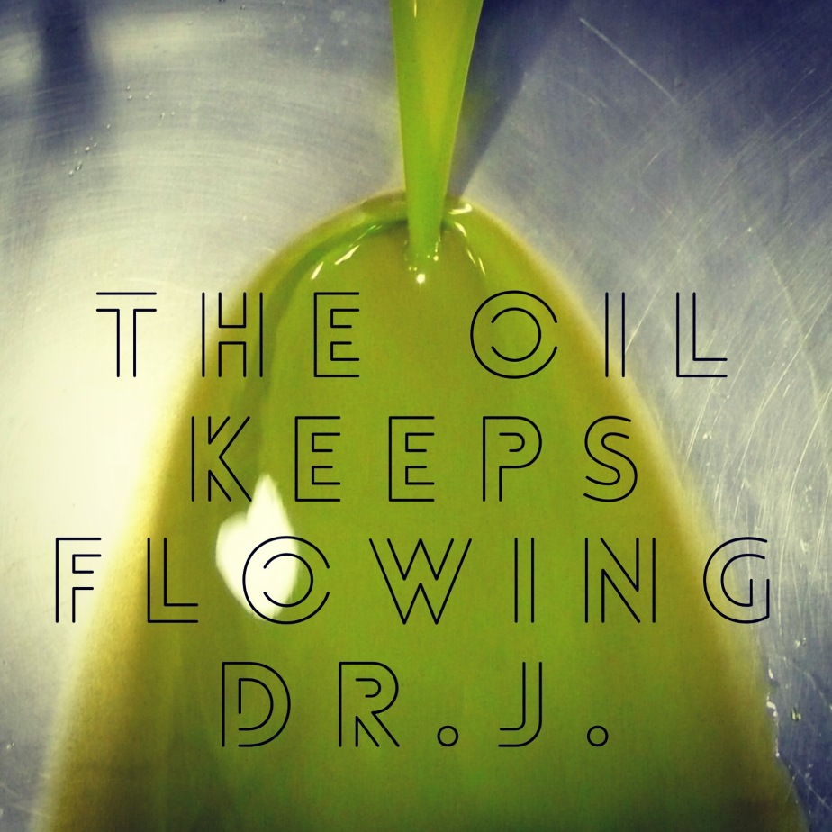 """The Oil Keeps Flowing"" by Dr.J."
