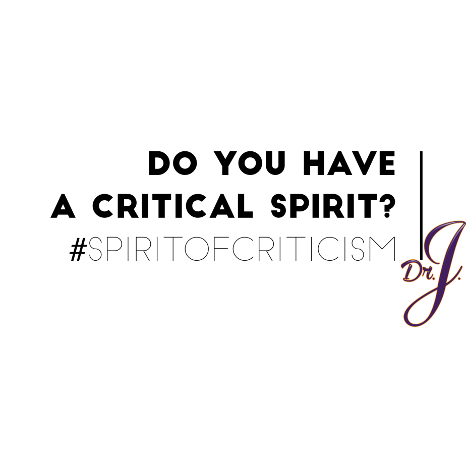 """Spirit of Criticism"" by Dr.J."