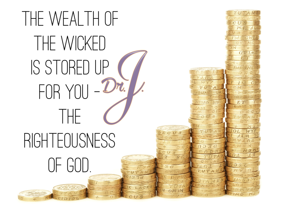 """Wealth is Stored Up for You"" by Jené Walker"
