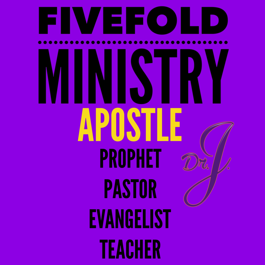 """""""Fivefold Ministry: Apostle"""" by Dr. JenéWalker"""