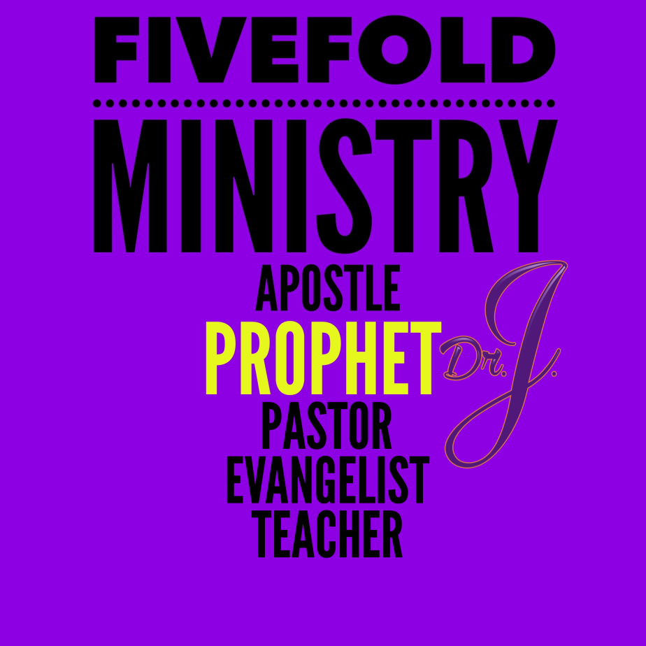 """Fivefold Ministry: Prophet"" by Dr. JenéWalker"